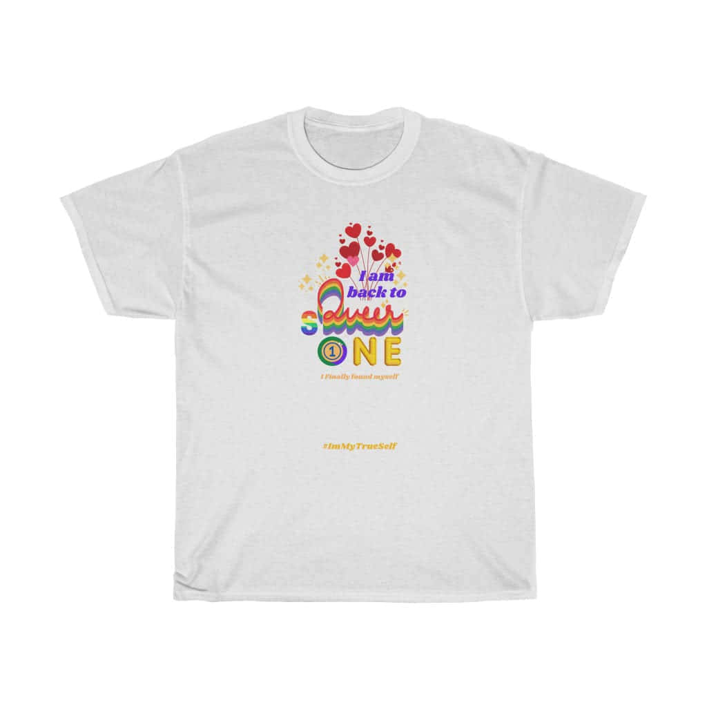(For US/CA) #BackToQueerOne: Unisex Heavy Cotton T-Shirt