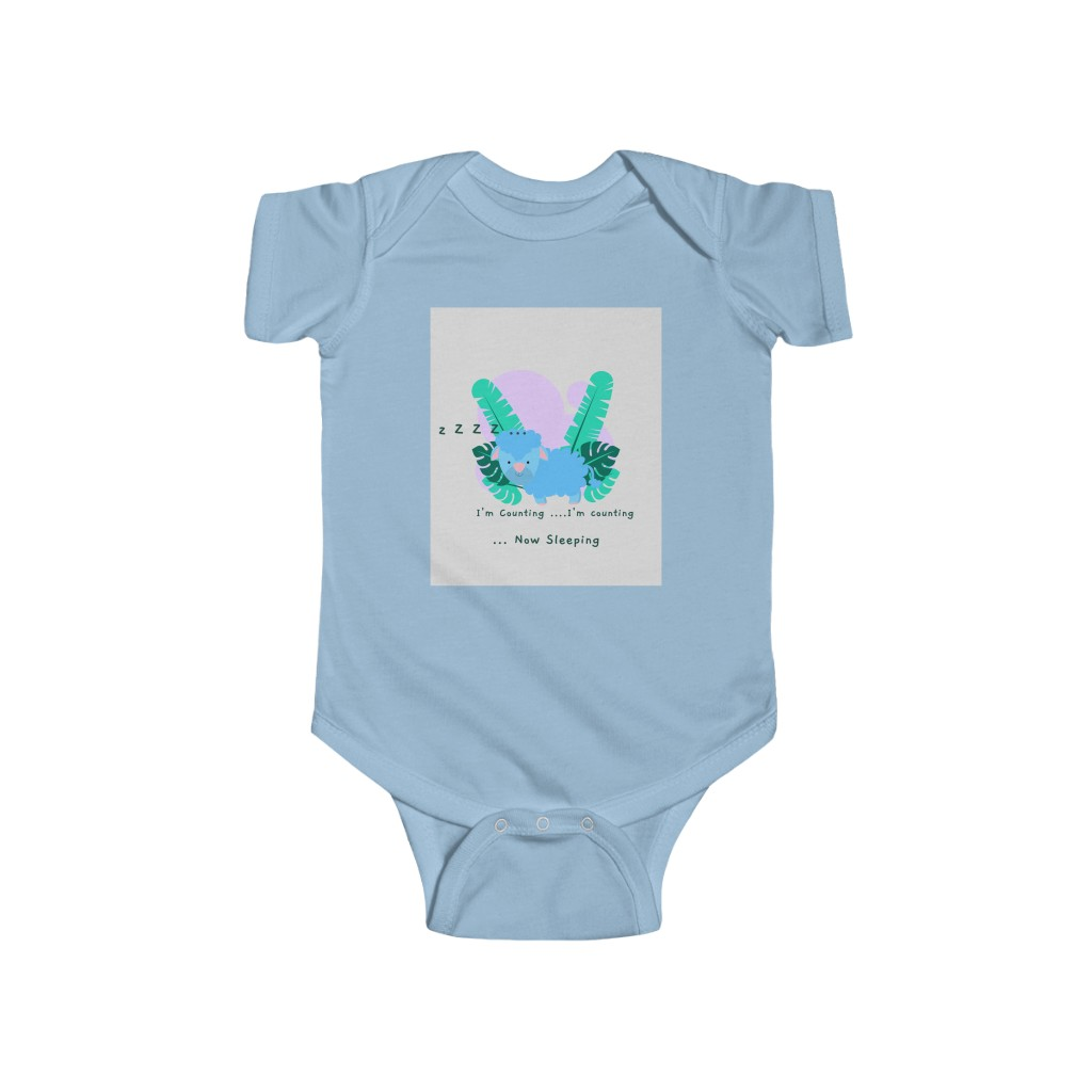 (For US/CA) #AmazingMom CountingSheep: Infant Fine Jerse...