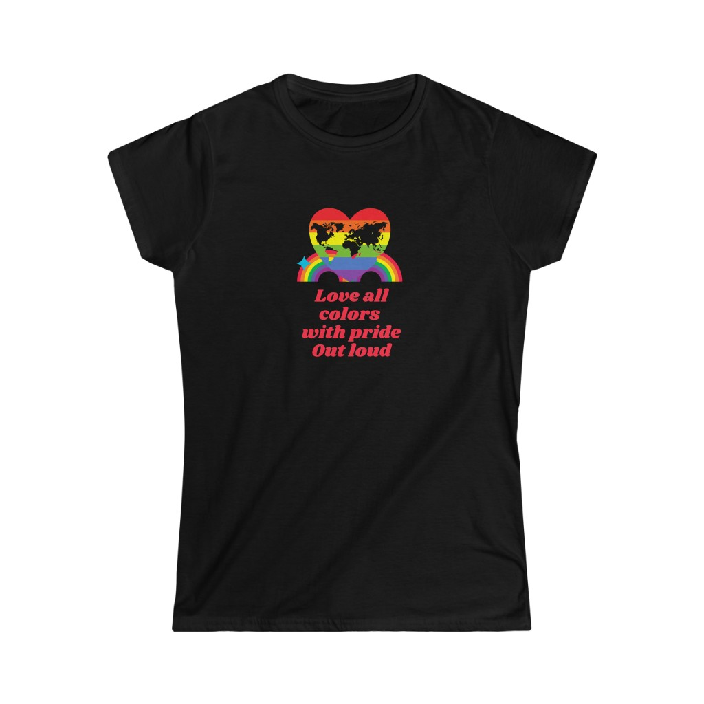 (For US/CA) #LovePride – Love All Colors With Prid...