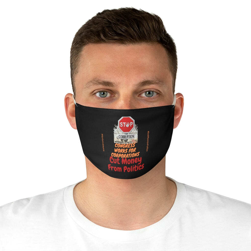 (For US/CA) #EndCorruption: Fabric Face Mask
