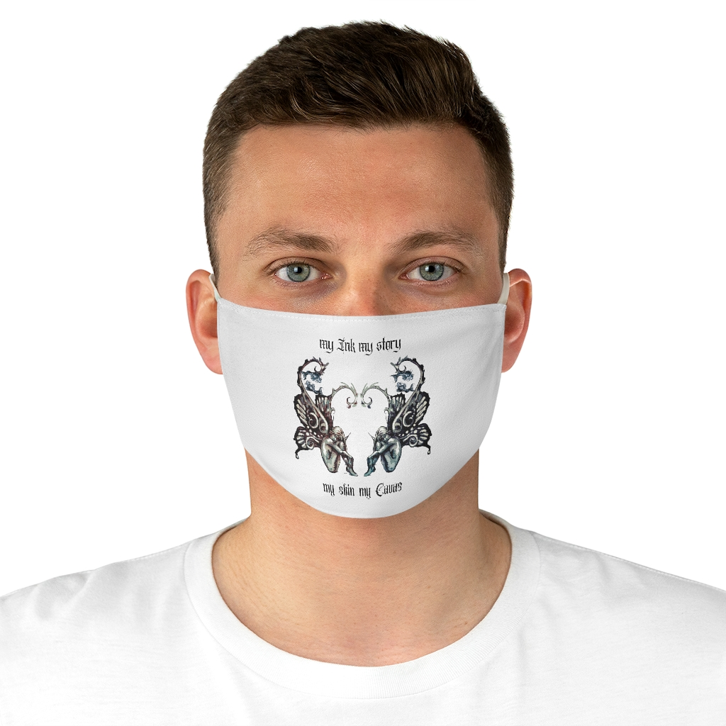 (For US/CA) Tattoo #MyInkMyStory: Fabric Face Mask
