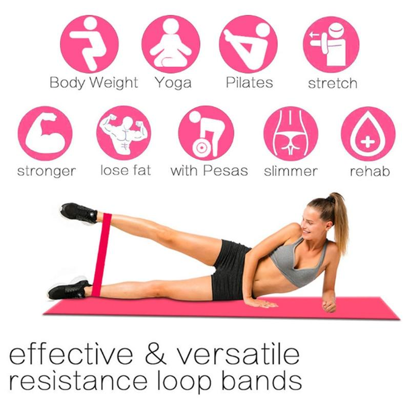 US_ONLY Soft And Wear-resistant Yoga Resistance Rubber B...
