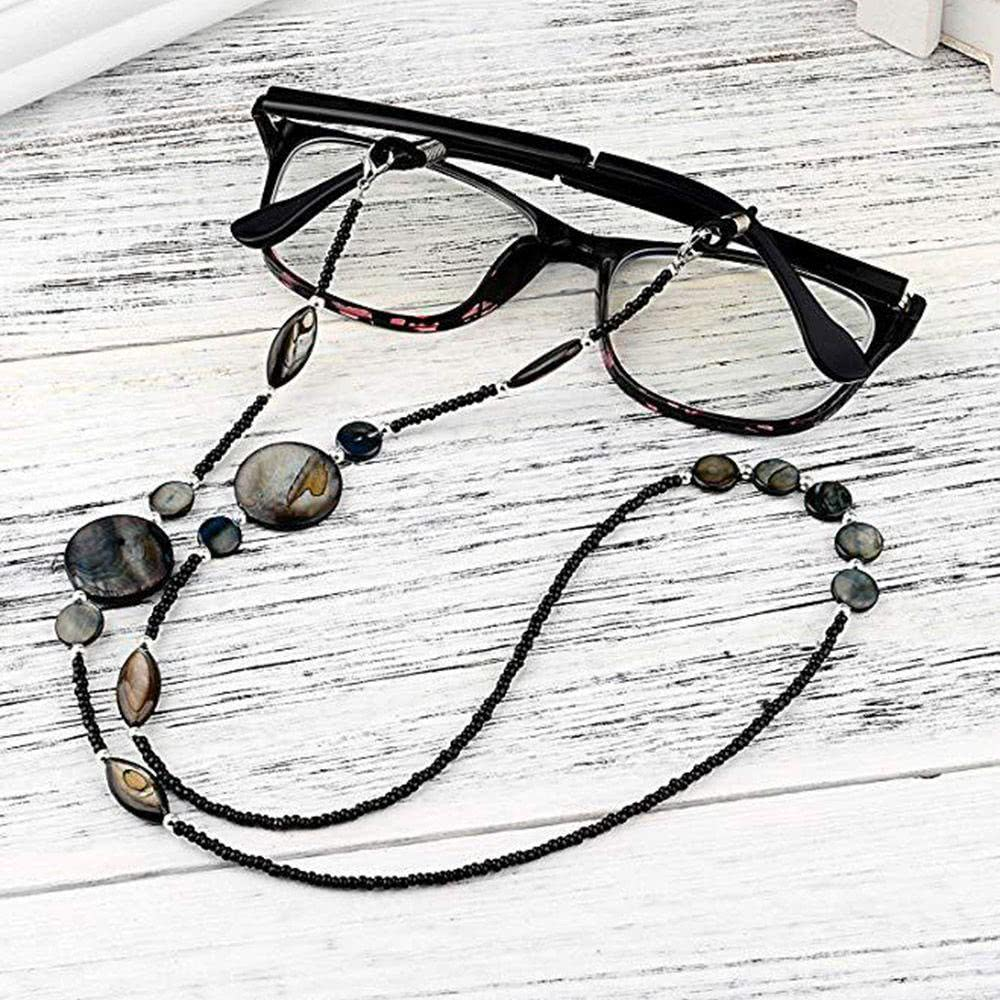 Fashion Reading Glasses Chain for Women Shell Beads Sung...