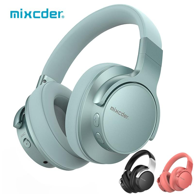 Mixcder E7 Wireless Headphones Active Noise Cancelling B...