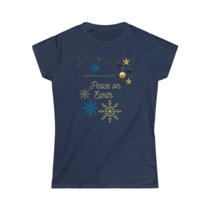 (For US/CA) #ChristmasWishNr1: Women's Softstyle T...