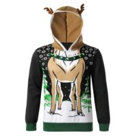 (For USA only) ***Very limited stock (less than 50 sweaters left)***Men Christmas Sweater Hoodie Long Sleeve