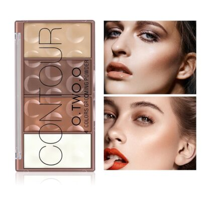 Contour Palette Face Shading Grooming Powder & blush...