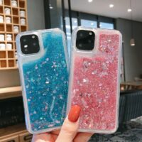 Glitter Liquid Case For Samsung Galaxy A51 A71 A50 A20 A30 A10 A40 A60 A70 A80 A20E A10S A20S Soft TPU Silicone Back Cover