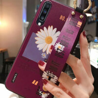 For Samsung Galaxy A51 50 70 71 20 30 21s S8 S9 S10 plus S20 FE Note 10 20 Ultra M51 Plus Wrist Strap Phone Holder Case