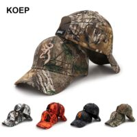 Camo Baseball Cap Fishing Caps Men Outdoor Hunting Camouflage Jungle Hat Airsoft Tactical Hiking Casquette Hats
