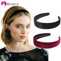 Velvet Hairbands Solid Color Fashion Small-brimmed Headbands Elegant Hair Accessories for Women Headpieces