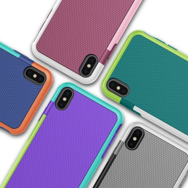 Hybrid Gel Rubber Anti-Slip Protective Case for iPhone 11 12 Pro XS Max Mini X XR 7 8 6 6S Plus SE 2020 Silicon ShockProof Cover