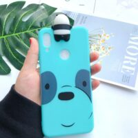 A10E A20E Case for Etui Samsung A10S A20S A30S A51 A71 A01 Silicone Case 3D Kawaii Cover for Galaxy A10 A20 A30 A40 A50 A70 Case