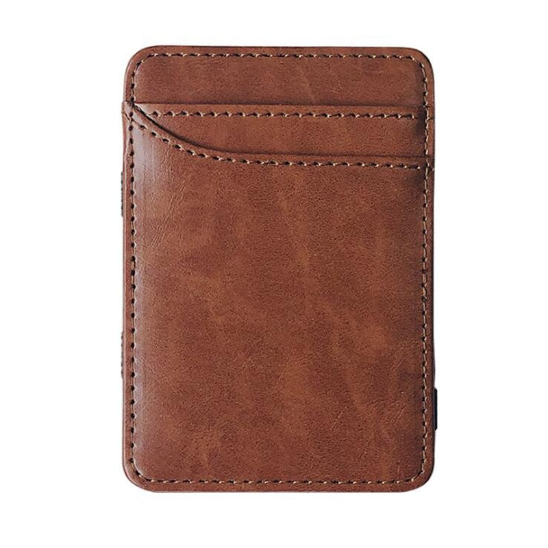 Fashion Slim Men's Wallet Credit Card Holder Women Small Cash Clip Billfold