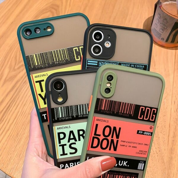 For iPhone 12 11 Pro 11Pro 12Pro Max mini 6 7 8 6s Plus Case For Fundas iphone X XR XS max SE 2020 Apple Cute Phone Cases Cover