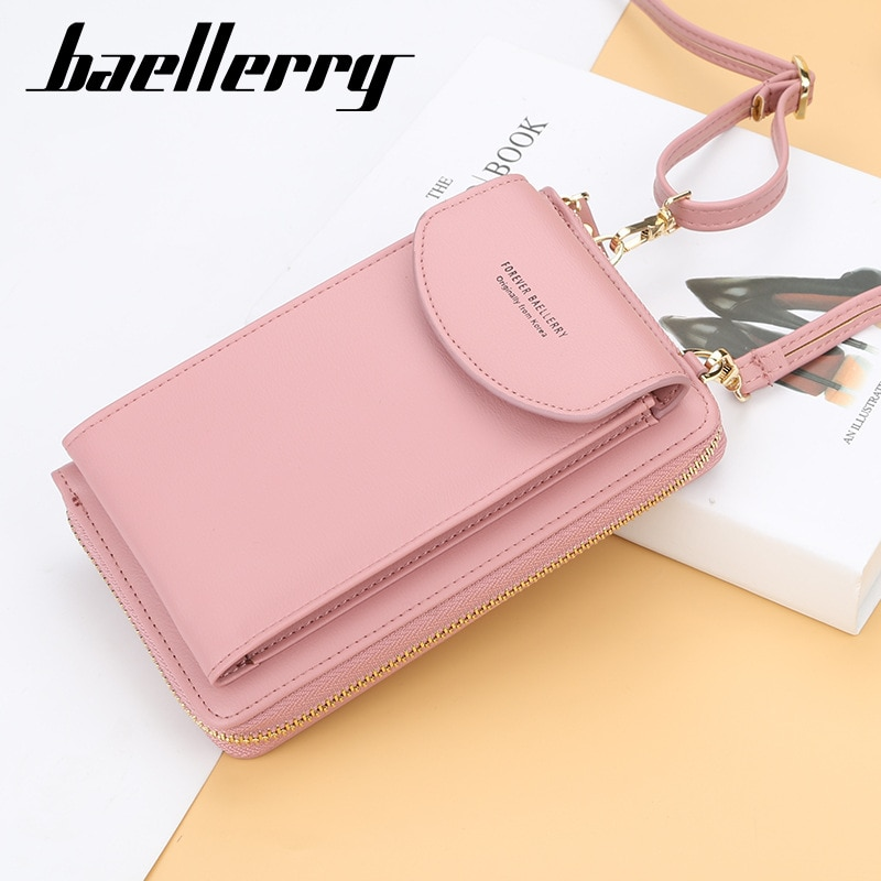 Beautiful Women's Wallet Big Card Holders Wallets Purse Clutch Messenger Shoulder Straps Bag