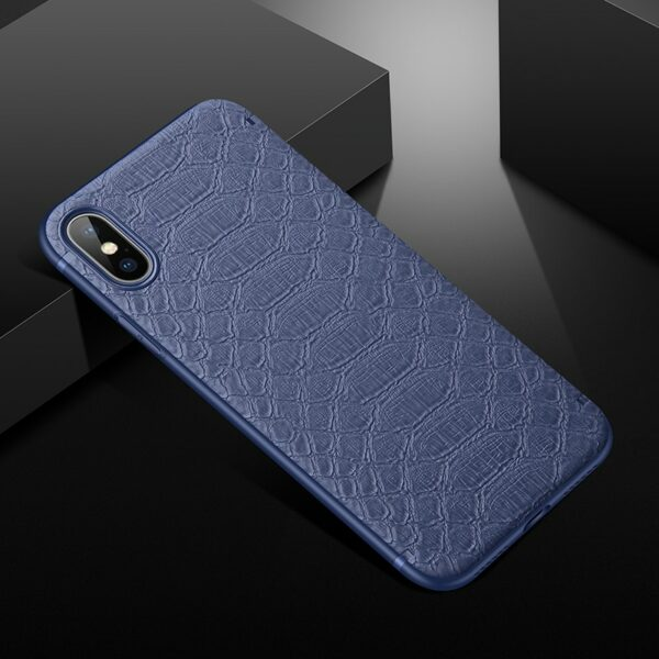 Crocodile Texture Phone Case With Magnetic for iPhone 11 Pro Max X XR XS Max 6 7 8 Plus Solid Color Soft Cover Funda Capa