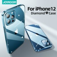 Clear Case For iPhone 12 Pro Max 12 mini PC+TPU Shockproof Full Lens Protection Cover For iPhone 12 Transparent Case