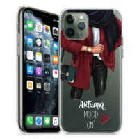 For Transparent iPhone 11 Pro Case 5S 6 6S 7 8 Plus X XS Max Fashion Women for Cover iPhone 7 Case Soft TPU for iPhone XR Case