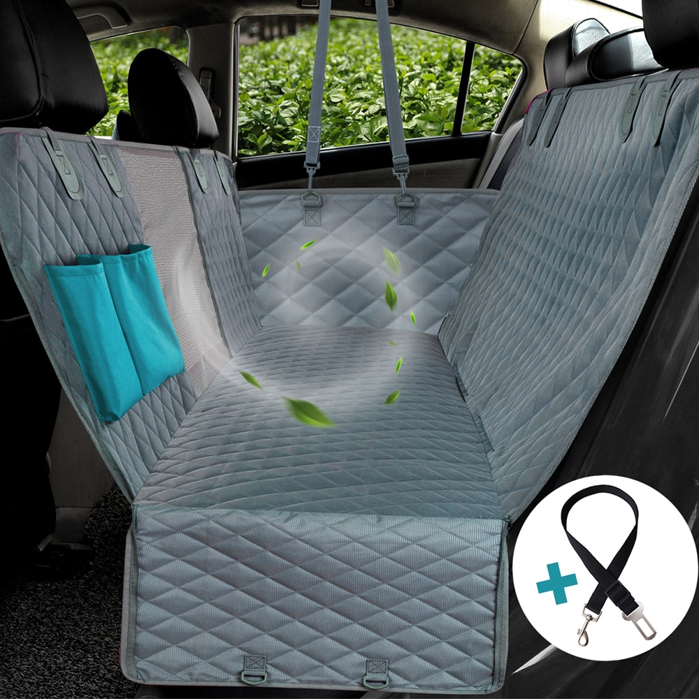 (for USA only) Dog Car Seat Cover Waterproof Pet Transport Dog Carrier Car Backseat Protector Mat Car Hammock For Small Large Dogs