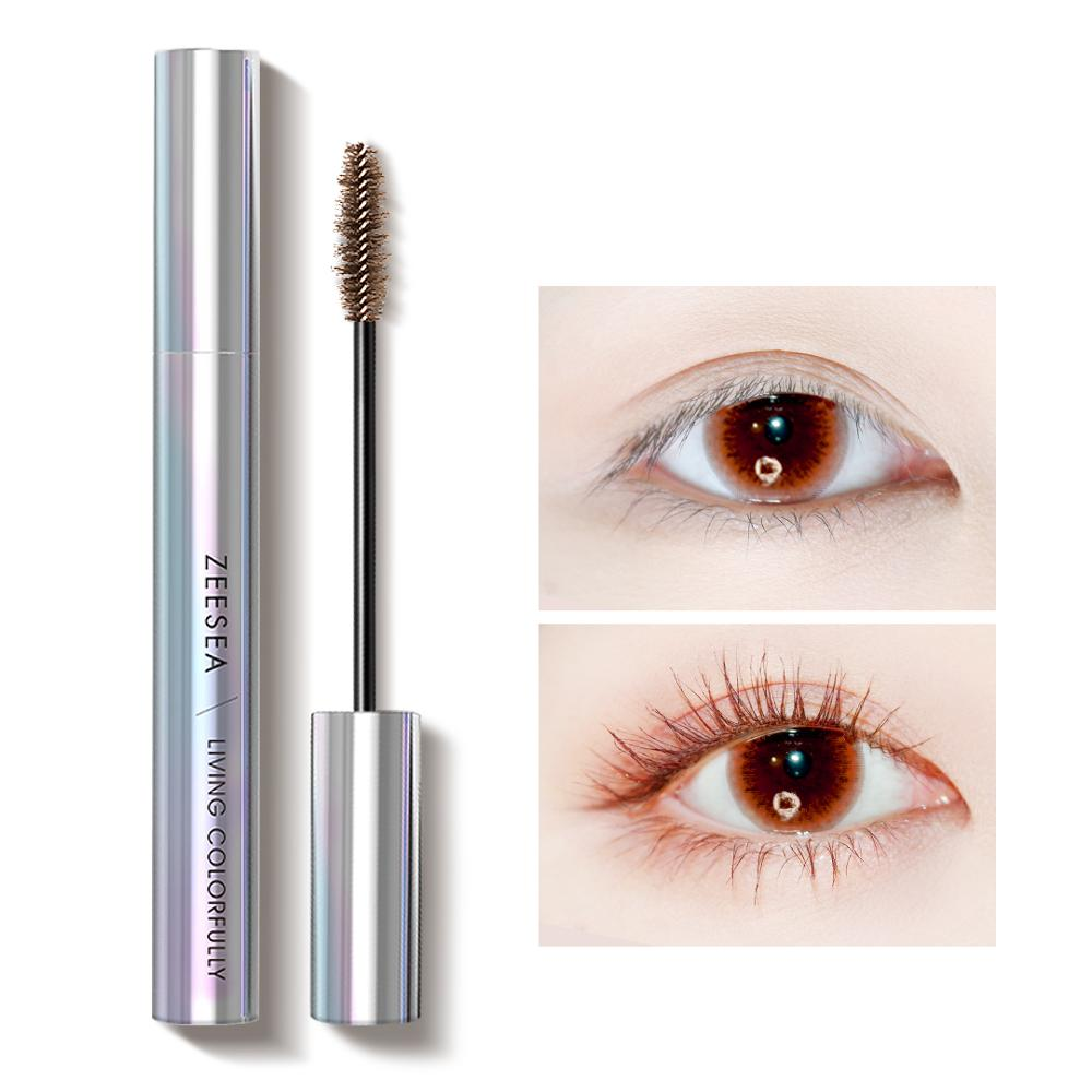 9 Colors Mascara Tear Makeup Shine Colourful Curling Waterproof Fast Dry Eyelash Extension Cosmetics