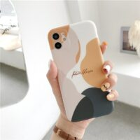 Art Retro Abstract Geometry Phone Case For iPhone 11 Pro Max XR X XS Max 7 7 Puls 7 8 Plus Cases Cute Soft Silicone Cover